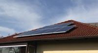 2,5 kWp Anlage auf Einfamilienhaus © PV-Diskont